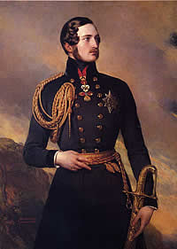 Prince Albert in 1842 by Franz Xavier Winterhalter