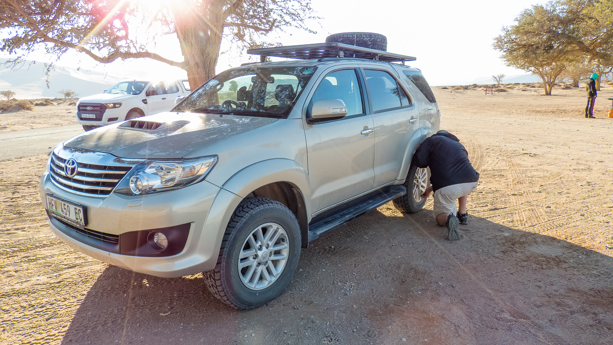 Tyre pressures for gravel roads