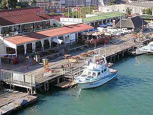 The Buffalo River in East London is South Africa's only riverine port.  While it is still a commercial harbour it has further developed into a smart leisure centre.  Find East London accommodation on our East London accommodation page.