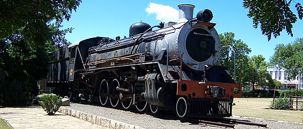 Friendly N6 - Steam engine in Barkly East