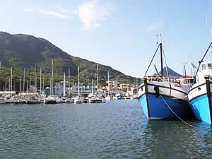 Hout Bay harbour serves both commercial fishing and leisure vessels and a number of well-known fish restaurants have sprung up to take advantage of this.  Find Hout Bay Cape Town accommodation on our Hout Bay Cape Town accommodation page.