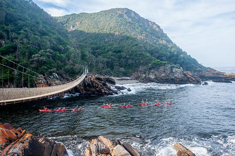 Storms River Suspension Bridge Tsitsikamma
