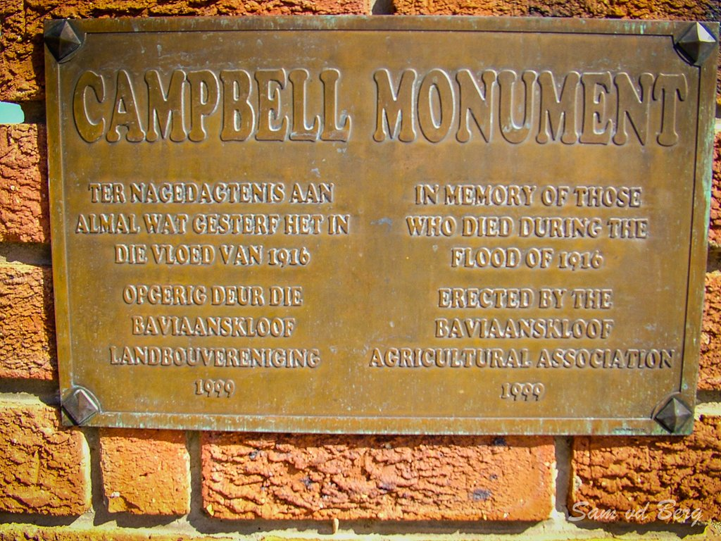 Campbell Monument