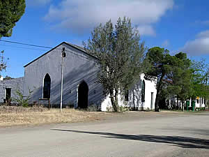 The old church hall at Nieu Bethesda