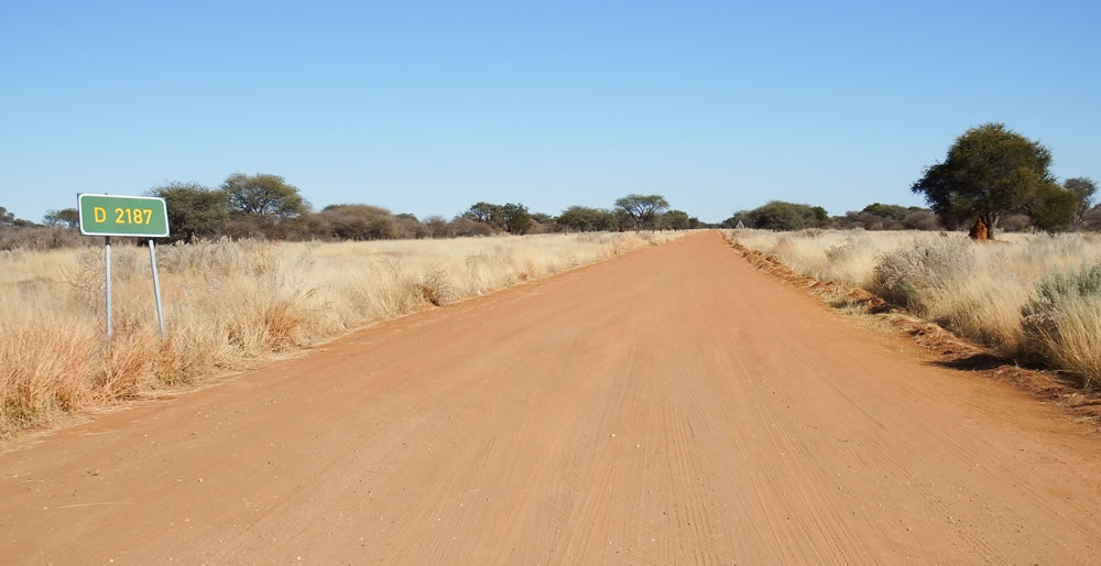 Namibia Secondary Roads D2187