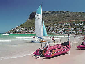 Fish Hoek is a suburb which has grown considerably in recent times due to its seaside location, fine views and easy access to both sides of the Cape peninsula.  Find Simons Town Cape Town accommodation on our Simons Town Cape Town accommodation page.
