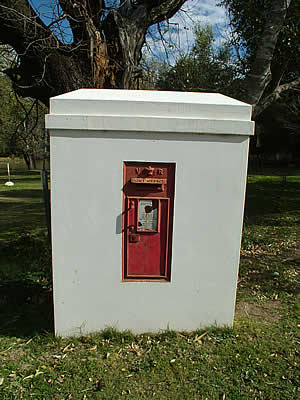 Somerset East, Victorian post box