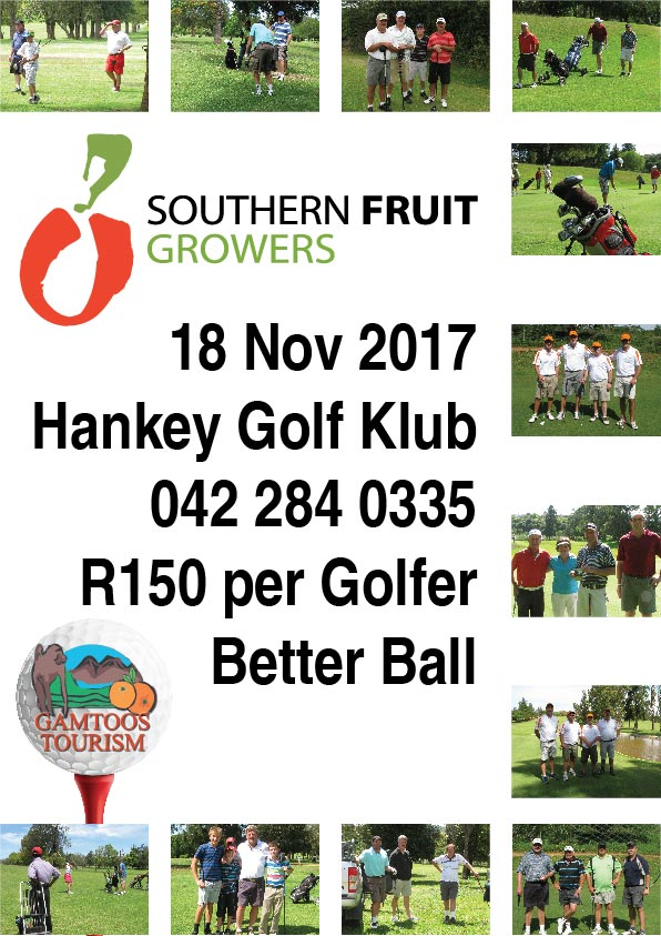 2017 South Fruit Growers Golf Day at Hankey Golf Club