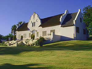 Stellenbosch, founded by Governor Simon van der Stel, is the second oldest town in South Africa.  Both in town and in the surrounding countryside are many examples of the graceful Cape Dutch architecture.  Find Stellenbosch accommodation on our Stellenbosch accommodation page.