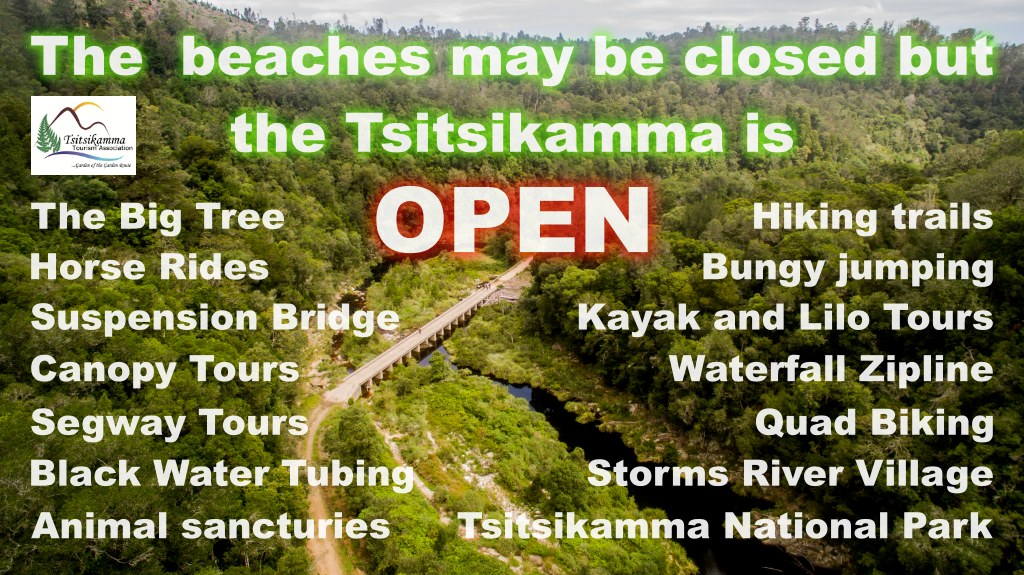 The Tsitsikamma is Open