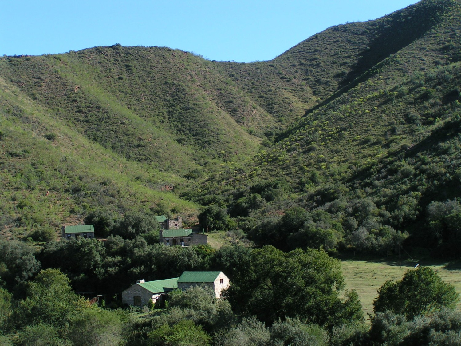 Baviaans kouga4x4 trail and travel route for Trail lodge