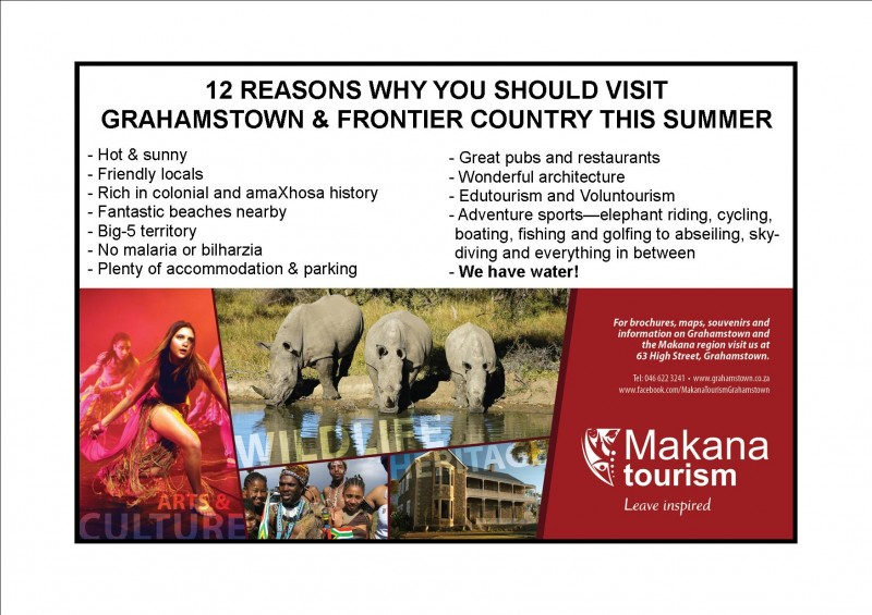 12 Reasons why you should visit Grahamstown & Frontier ...