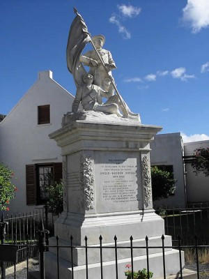 Anglo-Boer War Memorial Graaff-Reinet Tourist Attractions Sightseeing