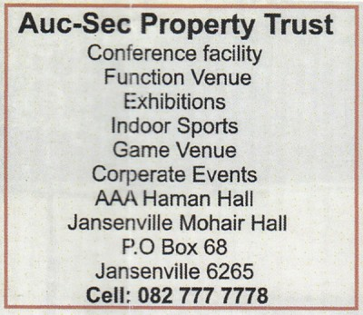 Auc-Sec Property Trust Jansenville Business