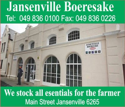 Boeresake Jansenville Business