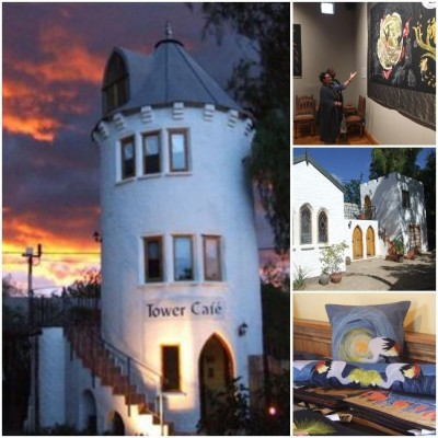 Bethesda Arts Centre - Tower Restaurant & Accommodation (50 km From Graaff-Reinet) Nieu Bethesda Restaurants & Eateries