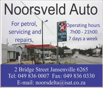 Noorsveld Auto Garage Jansenville Business
