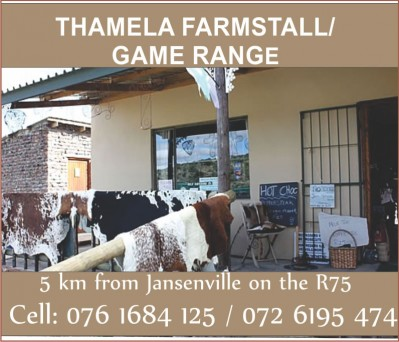 Thamela Farm Stall Jansenville Business