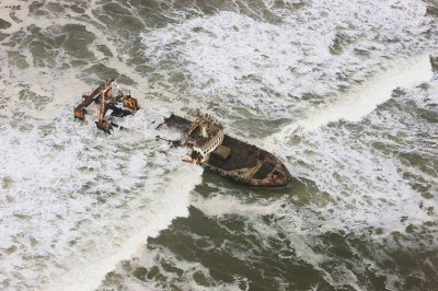 The Shipwrecks of Skeleton Coast of Namibia